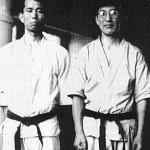 Shigeru Egami y Mitsusuke Harada.